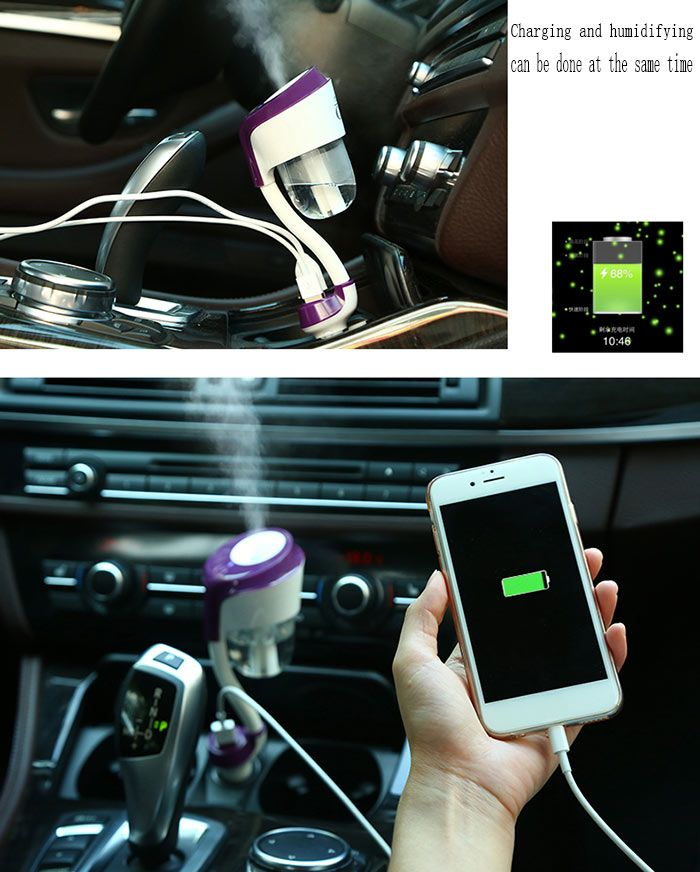Creative Portable Mini Aromatherapy Car Humidifier