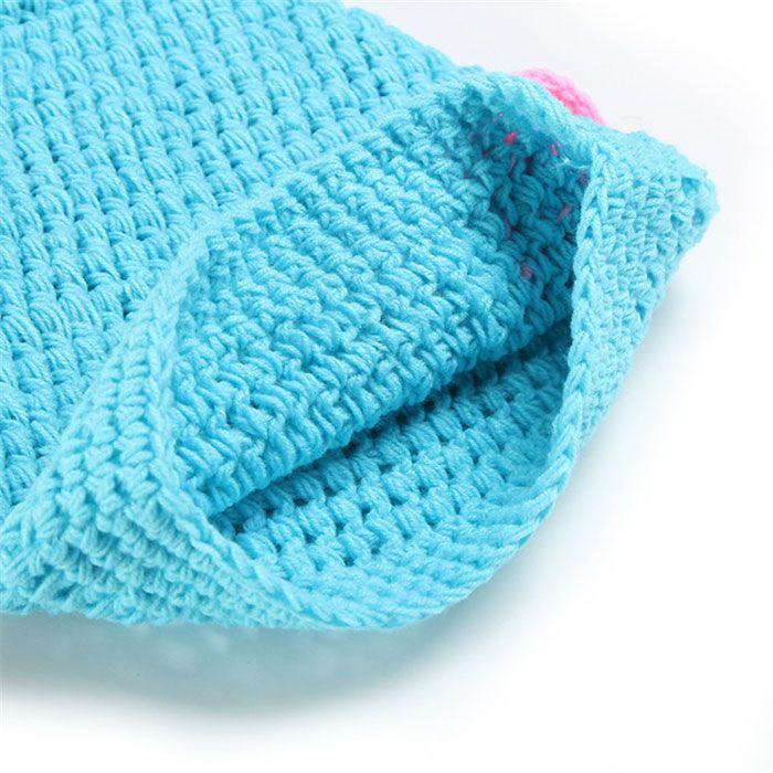 Knitted Baby Mermaid Twinset Baby Sleeping Bag Blanket