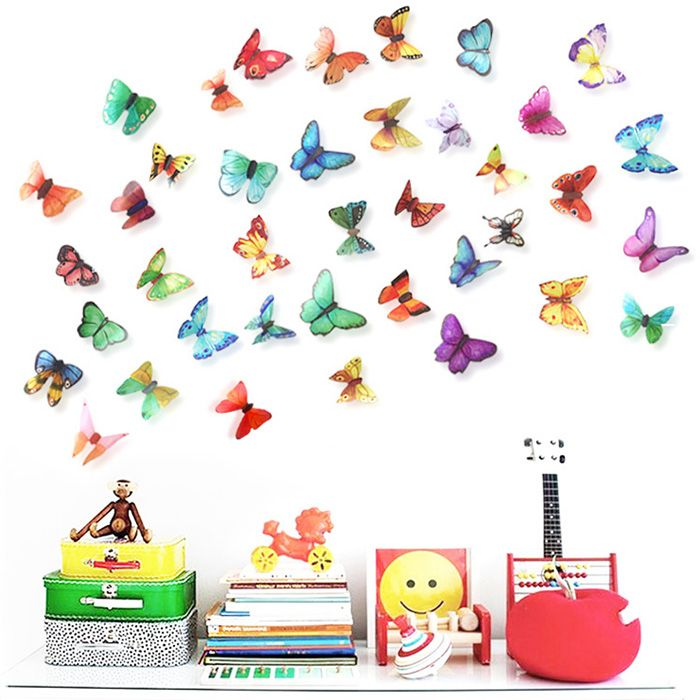 3D Butterfly DIY Home Decor Wall Stickers Set