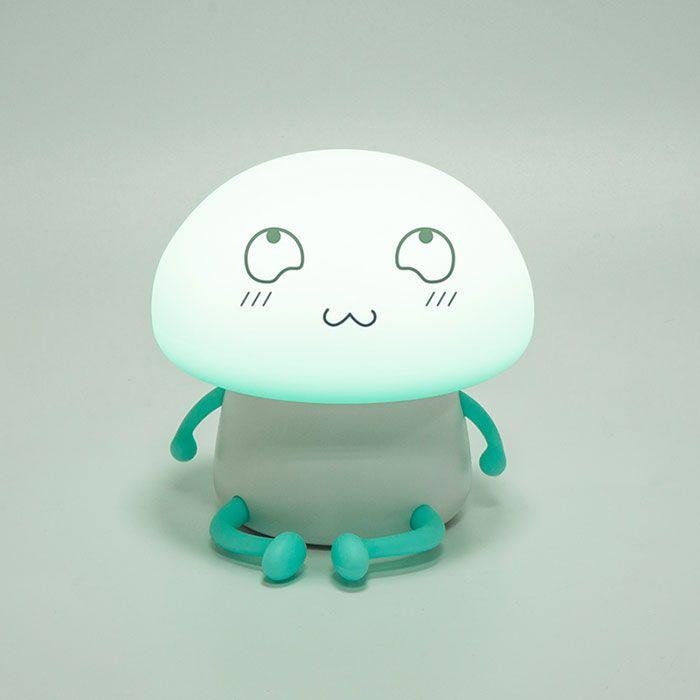 Cartoon Mushroom USB Rechargeable LED Night Light