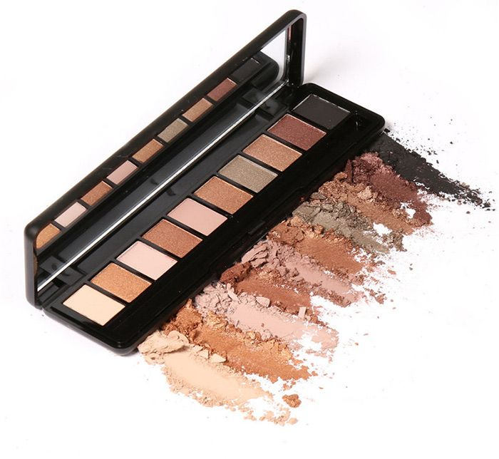 Earth Color Smoky Eyeshadow Kit
