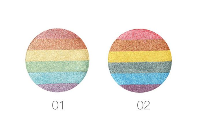 Cosmetics Makeup Rainbow Highlighter