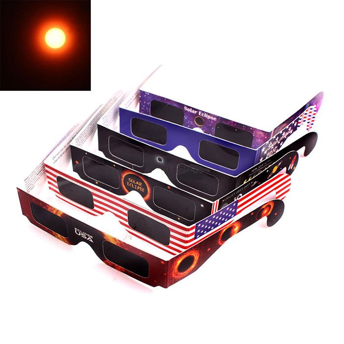 UV Protection Solar Eclipse Shades Glasses