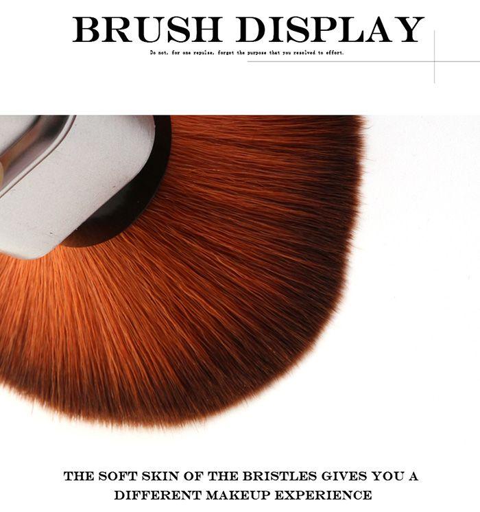 Telescopic Square Tube Blush Brush