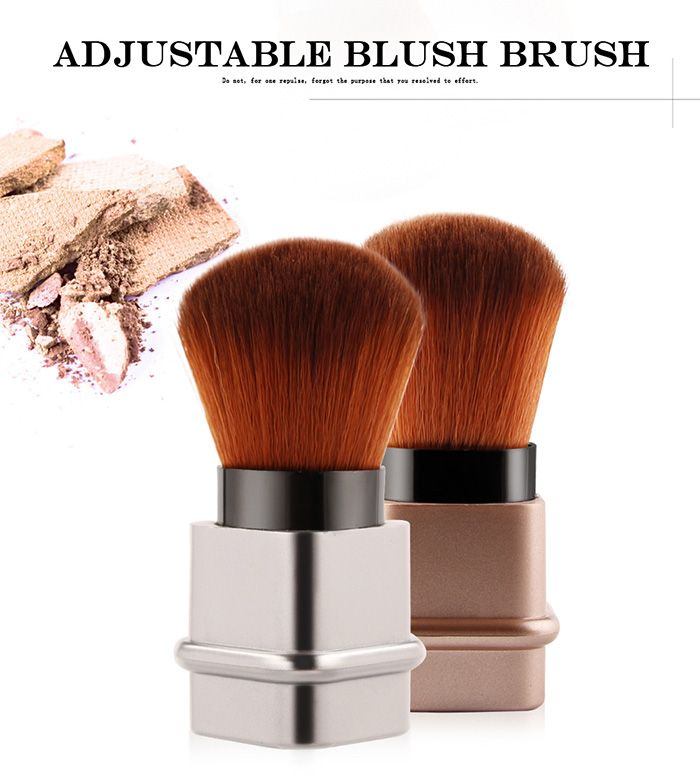 Telescopic Square Tube Blush Brush