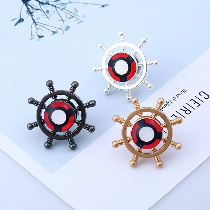 Helm Shape Fidget Spinner Adjustable Ring