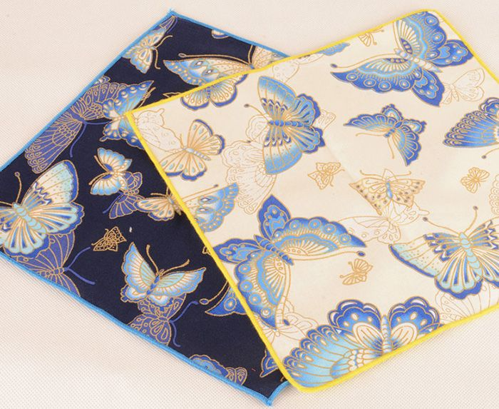 Ethnic Animal Pattern Embellished Handkerchief