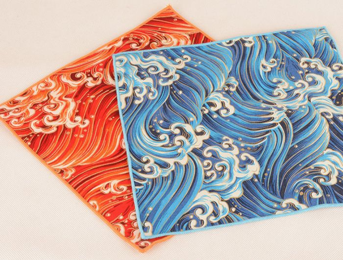 Retro Ethnic Pattern Portable Handkerchief