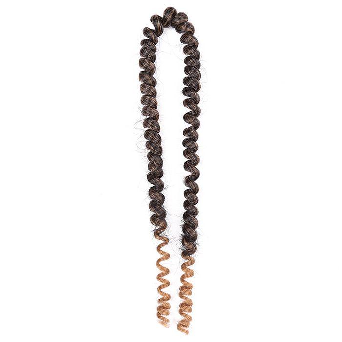 Short Shaggy Afro Spring Twist Braids Hair Extensions
