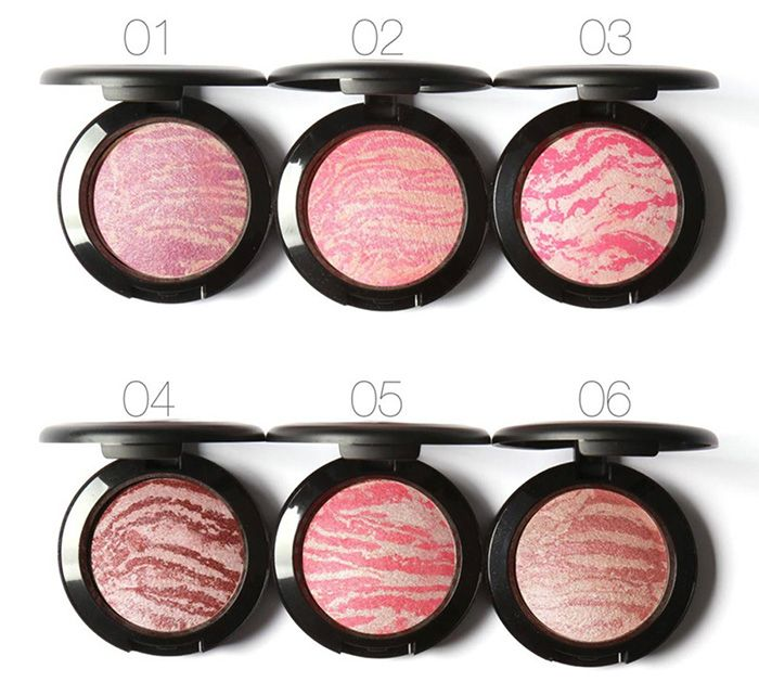 Waterproof Soft Mineral Blusher Palette