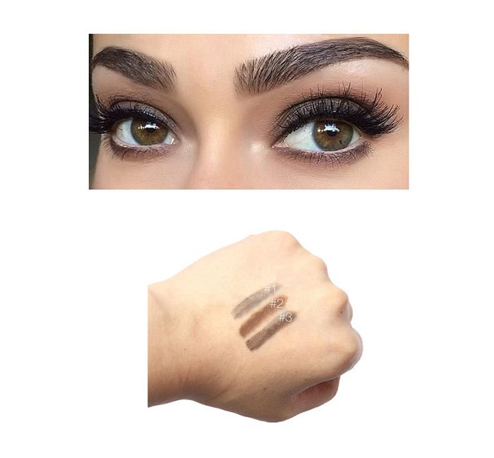 Waterproof Two Head Auto Brows Pencil With Brush