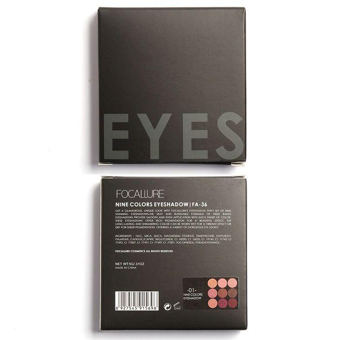 9 Colors Not Dizzy Long Lasting Waterproof Eyeshadow Kit