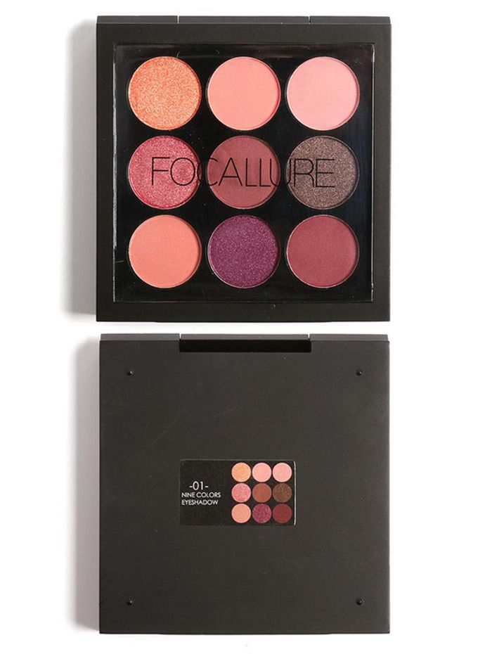 9 Colors Not Dizzy Long Lasting Waterproof Eyeshadow Kit