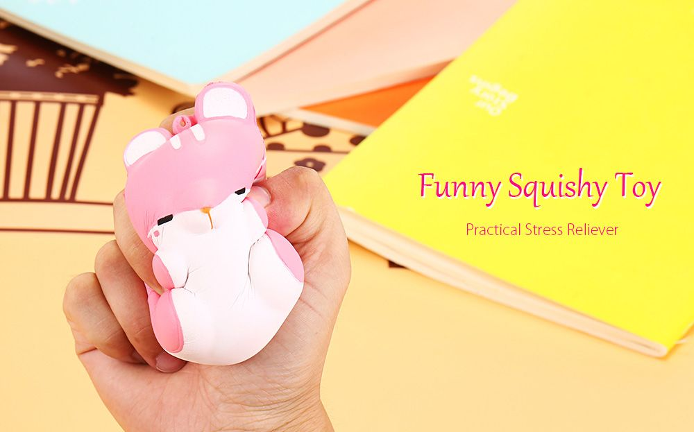 Slow Rising Squishy Toy Simulation Hamster