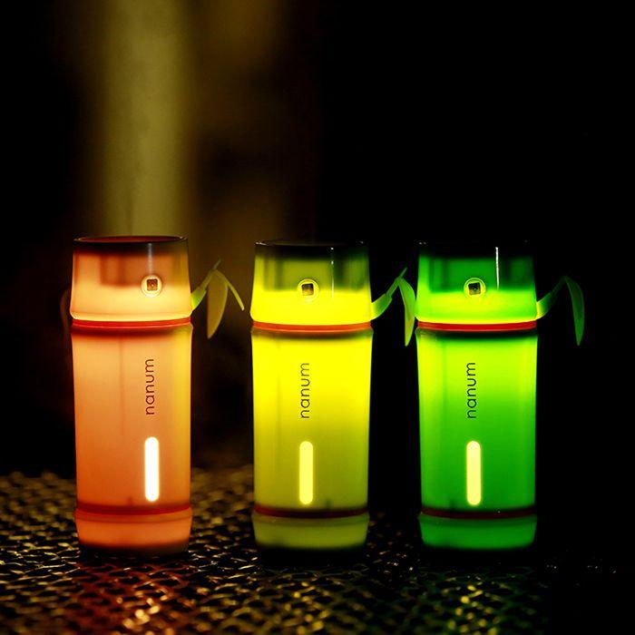 Bamboo Shape LED Night Light Mini Humidifier