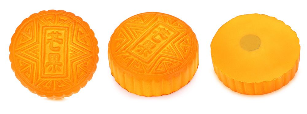 PU Simulation Mooncake Squishy Toy