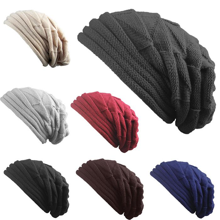 Knitted Triangle Fold Warm Beanie Hat