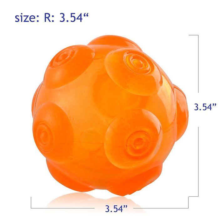 Dog Hollow Thrower Ball Pet Chomper Toy