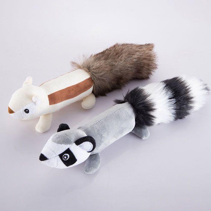 Plush Big Tail Animal Toy for Dog