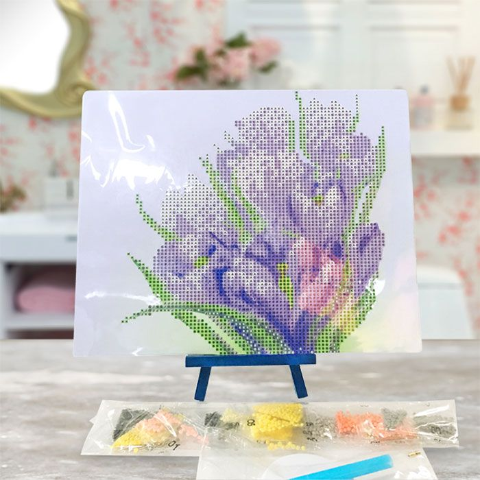 Daffodils Handmade 5D Resin Diamond Paperboard Painting