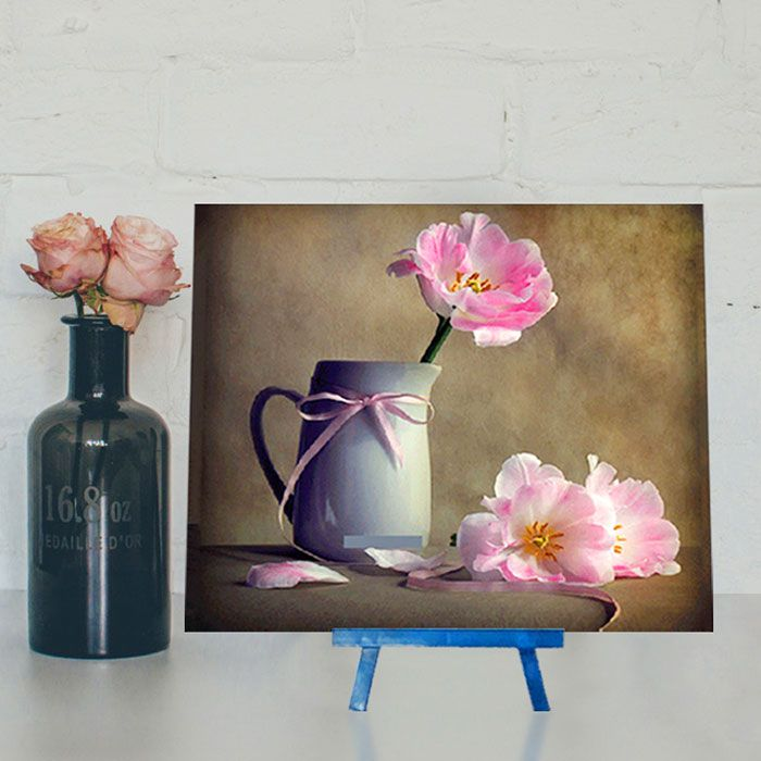 Mug Flower DIY Resin Diamond Paperboard Painting