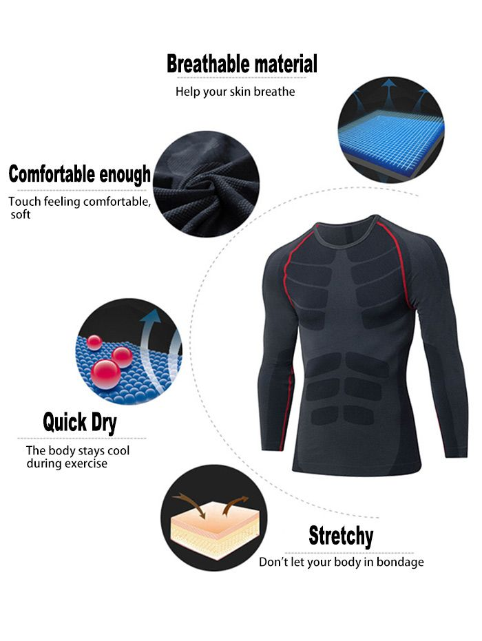 Raglan Sleeve Quick Dry Stretchy Long Sleeve T-shirt