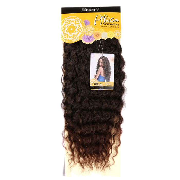 Long Shaggy Deep Weave Heat Resistant Fiber Hair Weaves