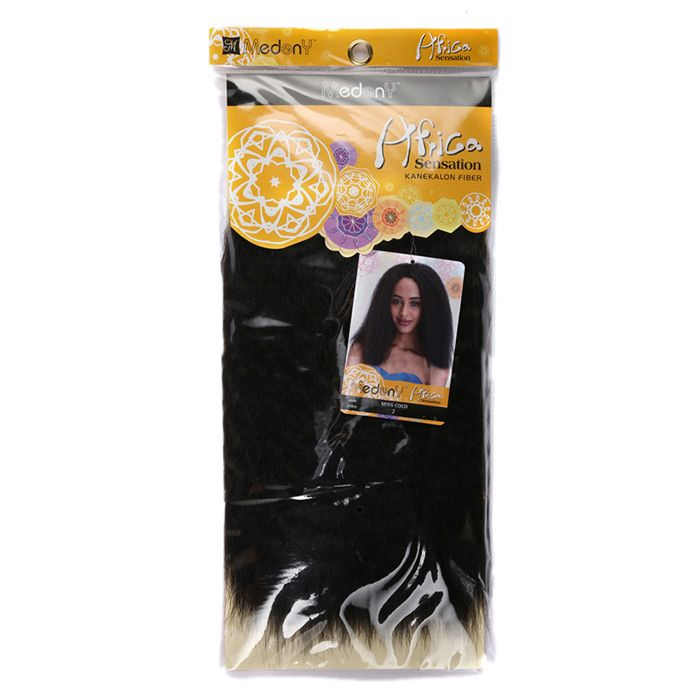 Long Shaggy Kinky Curly Heat Resistant Synthetic Hair Weaves