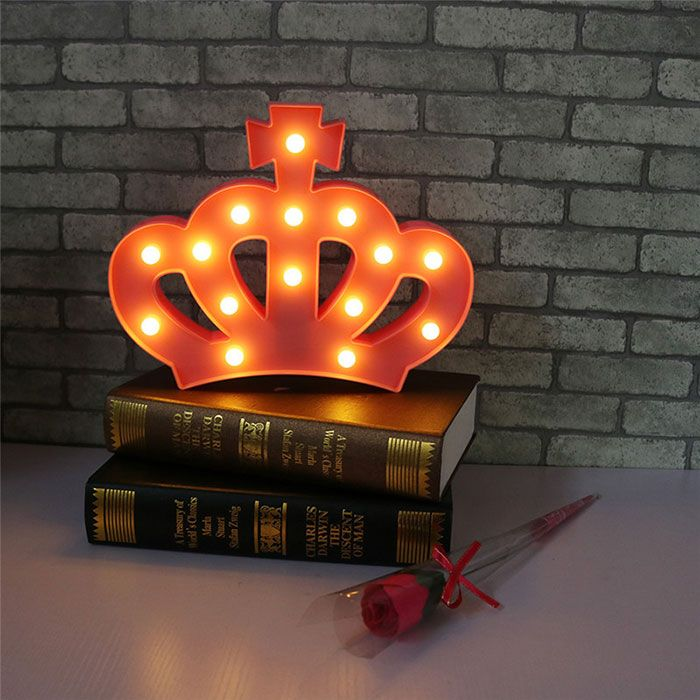 Crown Shape Decoration Night Light
