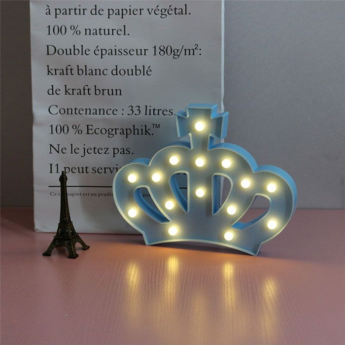 Crown Shape Decoration Night Light