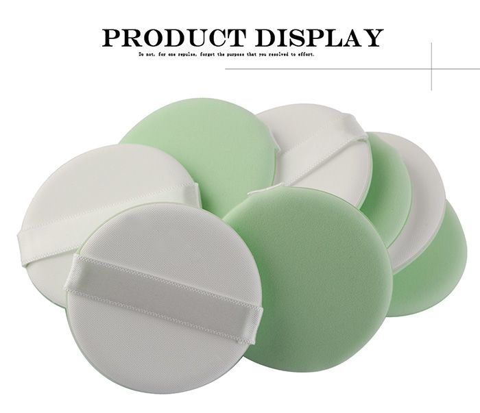 8Pcs Portable Powder Puff with Box