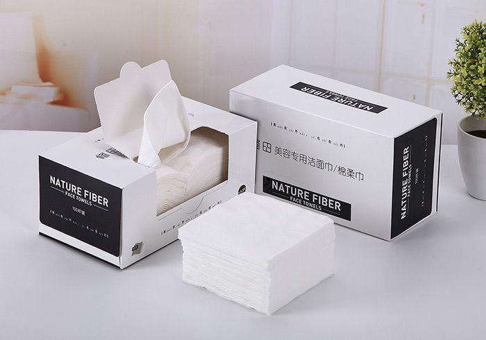 100 Pieces Nature Fiber Facial Cotton Pads