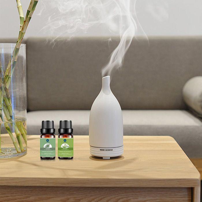 Top 2 Knit Cedar Vetiver Essential Oil Set