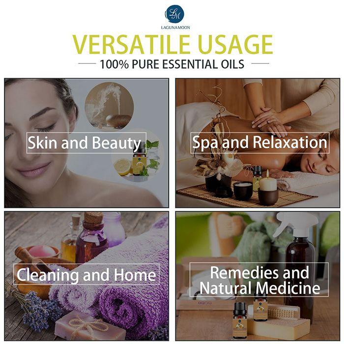 6 Pieces Metabolic Blend Essential Oil Set