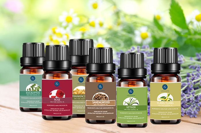 6 PCS Comforting Blend Essential Oil Suit