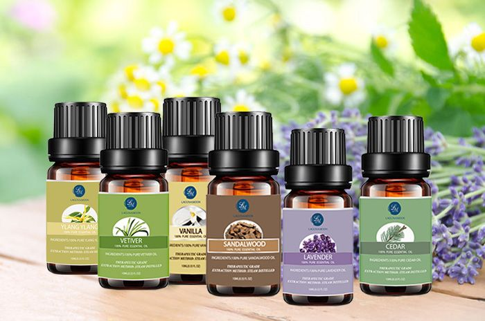 6 Pieces Restful Blend Essential Oil Set