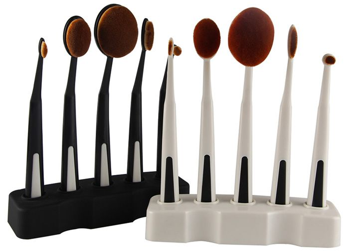 5PCS Toothbrush Shape Brushes with Holder