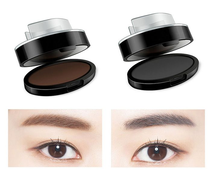 Long Lasting Seal Shape Eyebrow Powder Palette