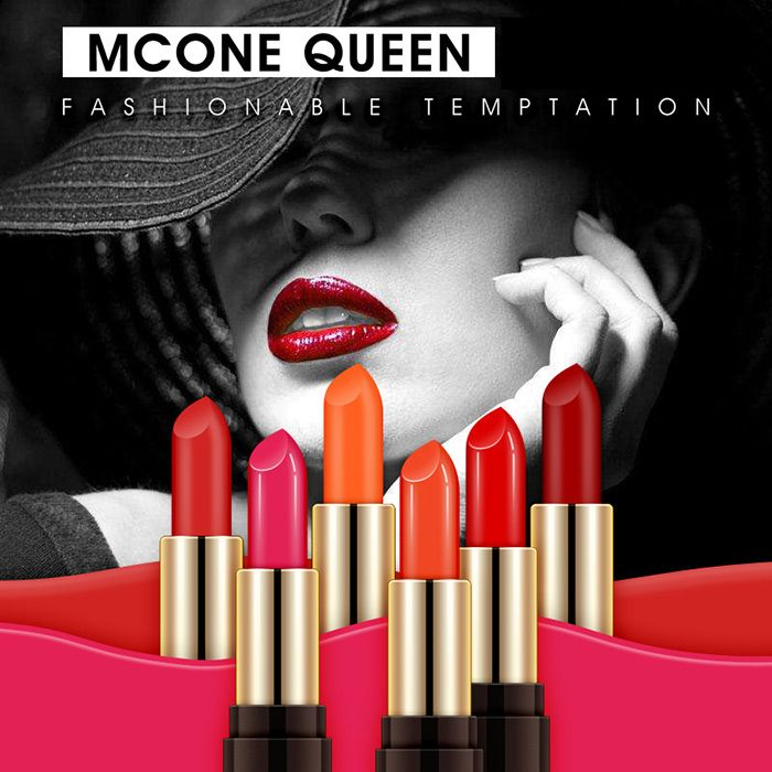 Multipurpose Moist Long Lasting Velvet Lipstick