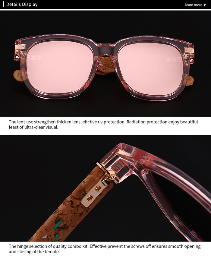 Full Frame Design Marble Grain Legs Mirror Sunglasses