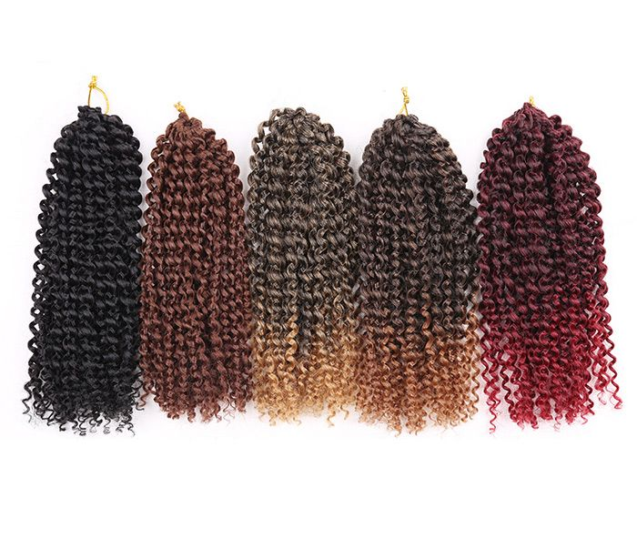 3Pcs Short Afro Kinky Curly Twist Braids Mali Bob Synthetic Hair Weaves