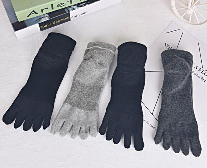 Cotton Blend Five Finger Toe Socks