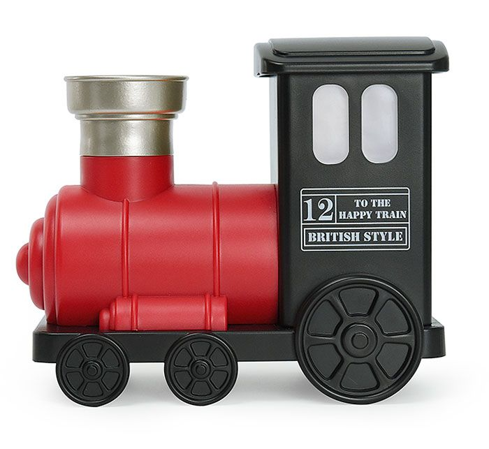 USB Train Mini Humidifier with LED Colorful Light