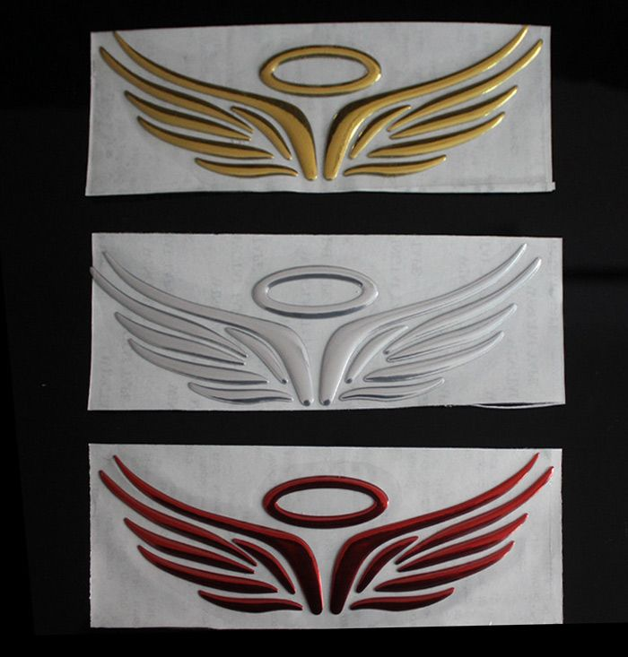 Wings Pattern Decoration Car Stickers