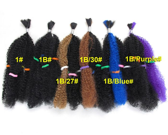 5Pcs Long Shaggy Afro Curly Synthetic Hair Weaves