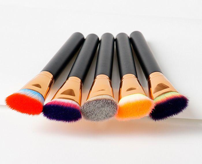Portable Mutipurpose Beauty Makeup Flat Brush