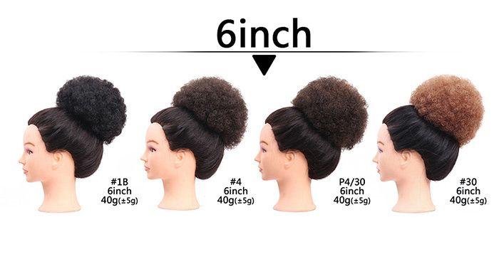 Short Curly Synthetic Cozy Hair Bun Wig