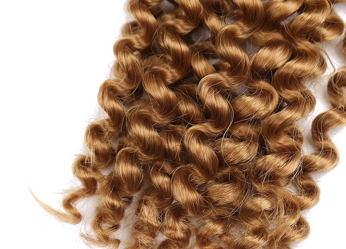 4 Pieces Short Toni Curly Synthetic Hair Weaves