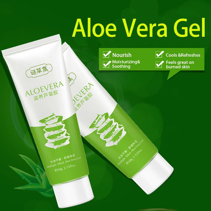 Pure and Natural Moisturizing Aloe Vera Gel