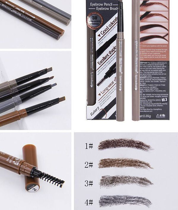 Stay All Day Double Headed Waterproof Eyebrow Pencil